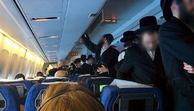 Chaos w samolocie. Żydzi nie chcieli siedzieć obok kobiet