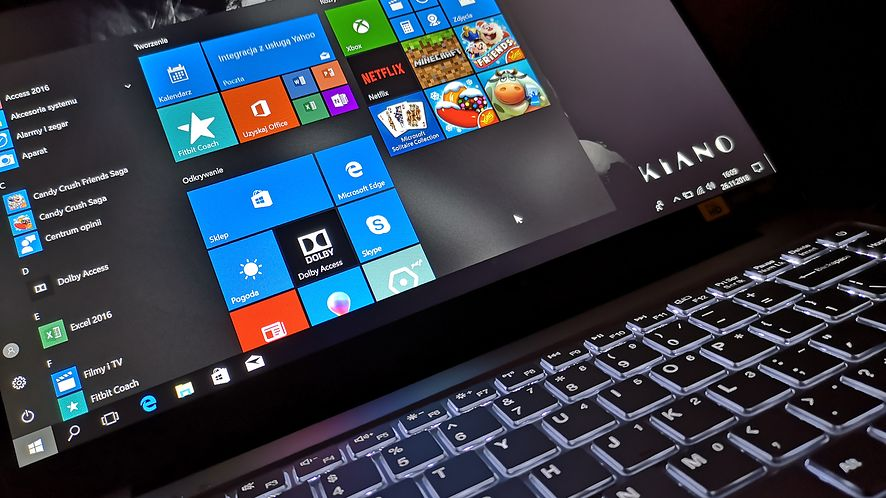 Skróty klawiszowe w Windows 10 ułatwiają pracę z systemem, fot. Oskar Ziomek
