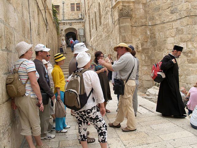 Turyści w Jerozolimie