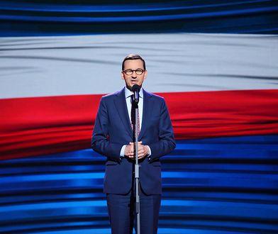 Litwa. Mateusz Morawiecki w Wilnie pojawił się na inauguracji nowego kanału Telewizji Polskiej