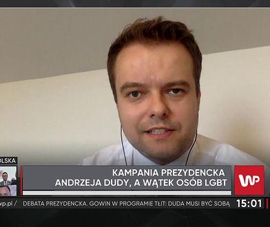 """Spór o słowa prezydenta nt. LGBT. Rafał Bochenek: """"sensem tej ideologii jest relatywizm seksualny"""""""