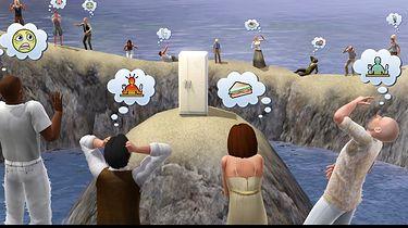 Simsy na konsolach z systemem Karmy i naciskiem na sieć