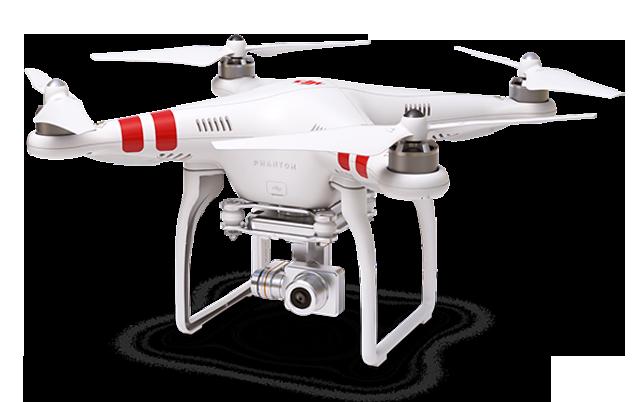 Quadrokopter, zwany potocznie dronem (źródło: DJI)