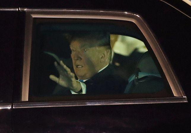 """Donald Trump podczas szczytu Kim Dzong Unem w Singapurze jeździ pancerną """"Bestią"""""""