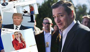Ted Cruz zaliczył wstydliwą wpadkę.