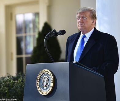 USA: burza wokół decyzji Donalda Trumpa o stanie nadzwyczajnym