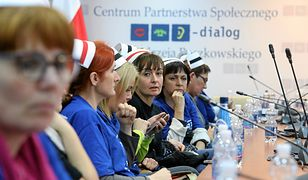 Pielęgniarki z Przemyśla zawieszają protest