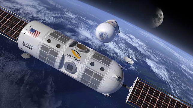 Tak wygląda kosmiczny hotel