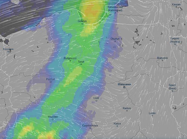 W nocy z piątku na sobotę nad Polską przesunie się deszczowy front. A za nim - jesień