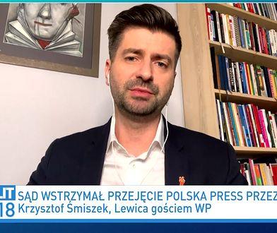 Decyzja ws. Polska Press i Orlenu. Krzysztof Śmiszek komentuje