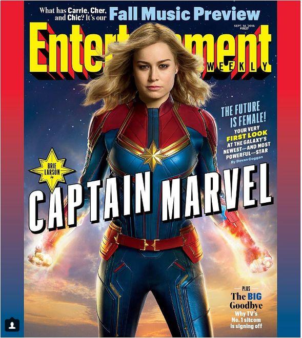 """""""Captain Marvel"""": Brie Larson w stroju superbohaterki"""