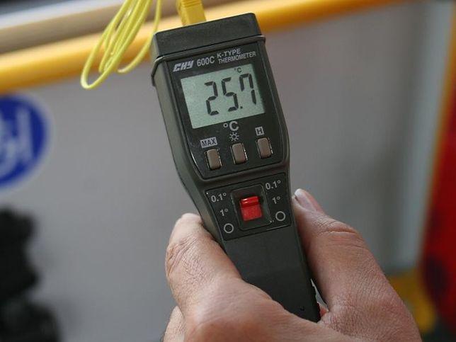 Kontrole klimatyzacji w autobusach trwają