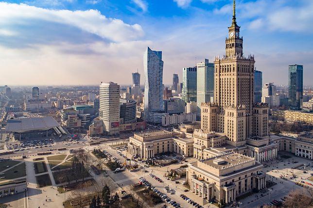 Smog Warszawa - wysoka jakość powietrza we wszystkich dzielnicach.