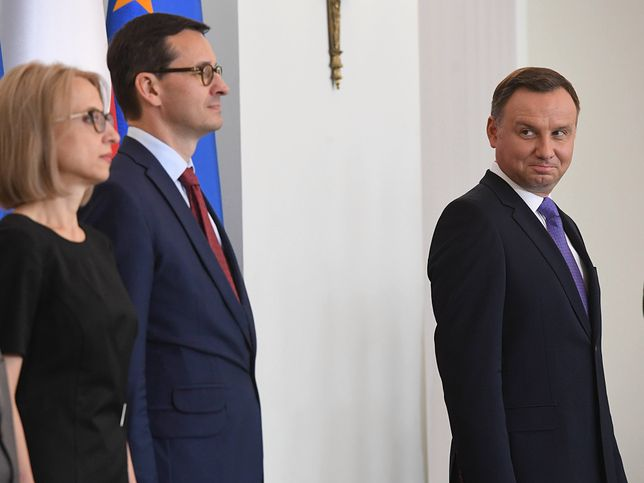 Strajk nauczycieli 2019. Posiedzenie rządu. Premier Morawiecki i minister Zalewska.