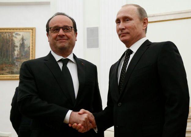 Władimir Putin: jesteśmy otwarci na współpracę z Francją i koalicją w Syrii