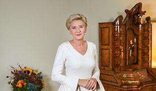 """Agata Kornhauser-Duda przemówiła. Jedni chwalą, drudzy nazywają """"paniusią z Pałacu"""""""