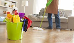 Sprzątanie może być efektywniejsze, jeśli użyje się odpowiednich środków