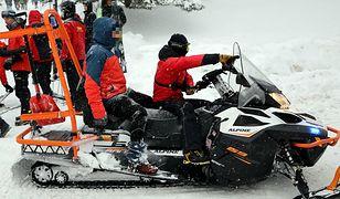 Akcja TOPR w Tatrach. Ratownicy sprowadzili do Kuźnic pięciu mężczyzn