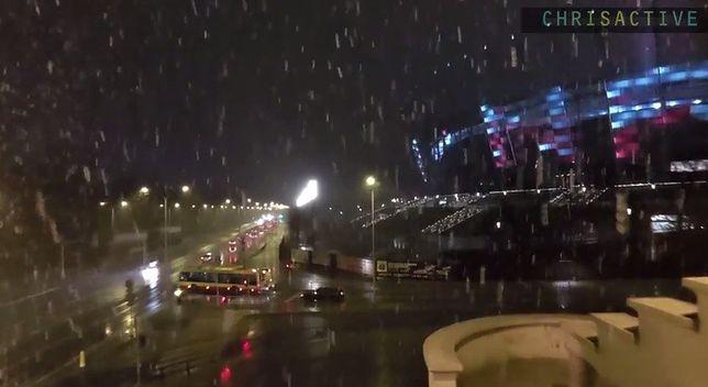 """""""Moja Warszawa"""" w śniegu [WIDEO]"""