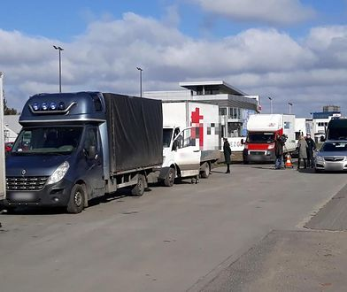 Przeładowane dostawczaki to niestety codzienność polskich dróg
