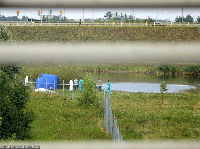 Ciało Dawida znaleziono niedaleko węzła Pruszków