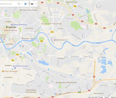 Nowa obwodnica Krakowa działa już od czwartku, ale w Google Maps nadal biała plama