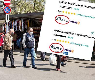 Ceny maseczek znowu w górę. Sprzedawcy rozpoczęli żniwa
