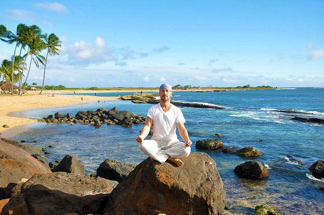 Bogusław Szedny uważa, że medytacja pomogła mu w odnalezieniu samego siebie