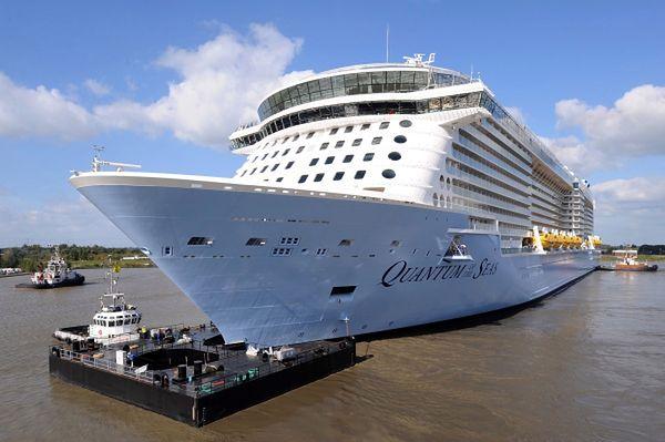 """""""Quantum of te Seas"""" powstał w stoczni Meyer w Papenburgu"""