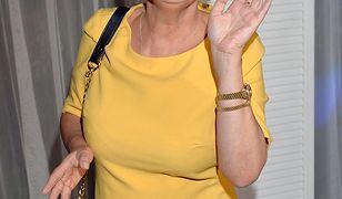 Adrianna Biedrzyńska skończyła w tym roku 56 lat
