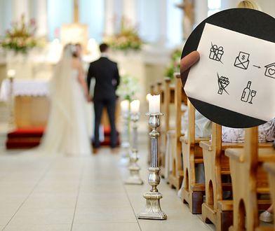 Koperta na wesele zamiast prezentu. Para młoda poprosiła o pieniądze