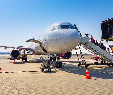 Do niecodziennego zdarzenia doszło na lotnisku w Gdańsku - w rezultacie samolot wyleciał z półgodzinnym opóźnieniem