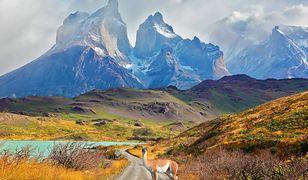 Zachwycająca Patagonia położona jest na terenie Argentyny i Chile