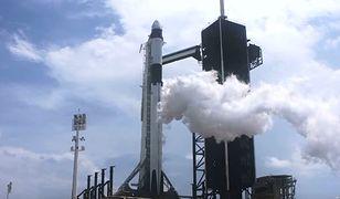 Historyczny lot NASA i Space X