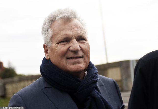 Wybory parlamentarne. Aleksander Kwaśniewski czeka na reakcję Lecha Wałęsy