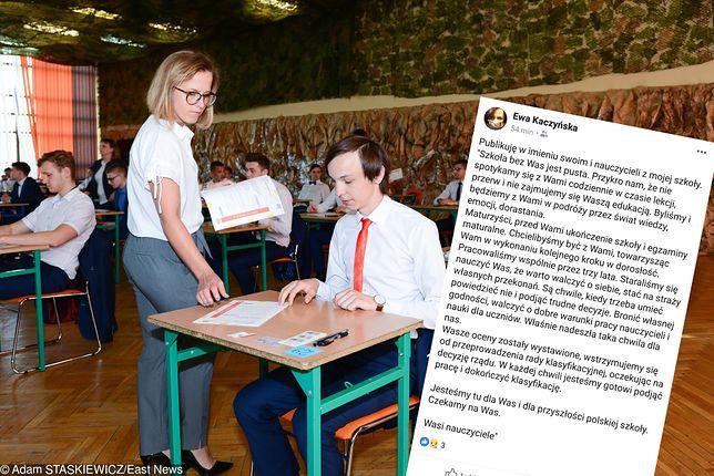 Strajk nauczycieli 2019. Dydaktycy apelują do maturzystów