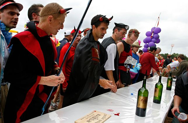 Maraton w Medoc odbywa się od 1985 roku