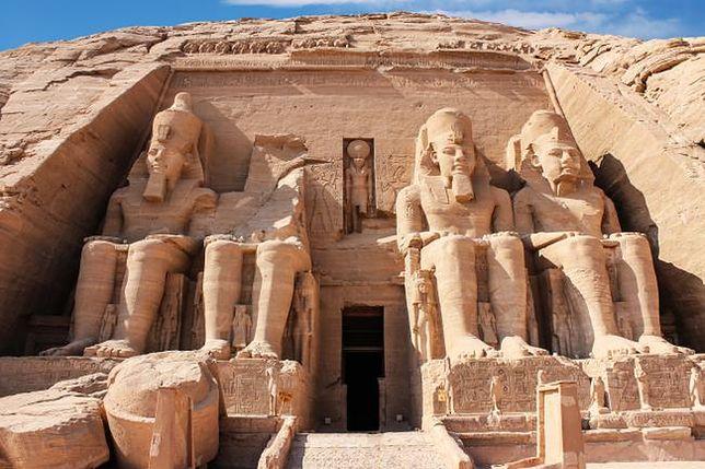 Abu Simbel - jedna z najwspanialszych świątyń Egiptu