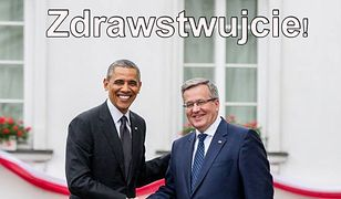Obama w Warszawie [Najlepsze memy]