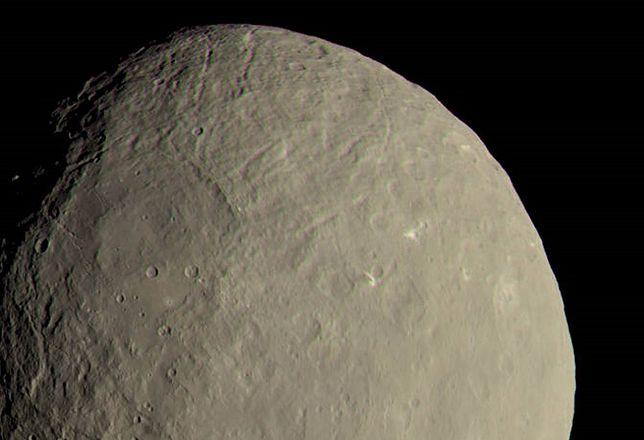 Ceres na zdjęciu NASA