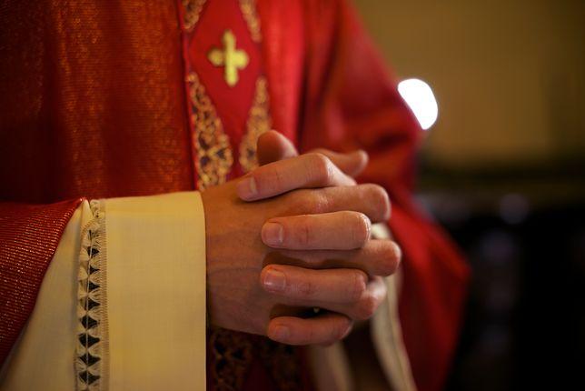Odrażające zachowanie kapelana z Łukowa