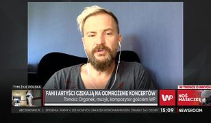 Tomasz Organek: brak kontaktów międzyludzkich wpływa na nas destrukcyjnie