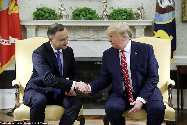 Andrzej Duda i Donald Trump spotkają się w poniedziałek na forum ONZ - dowiedział się reporter WP