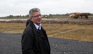 Prezydent: budowa zbiornika Racibórz m.in. dzięki specustawie z 2010 r.