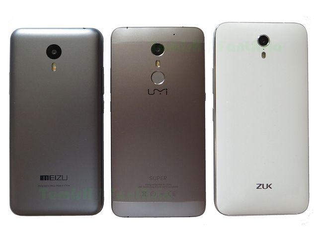 Meizu M2 Note / UMI Super / Zuk Z1
