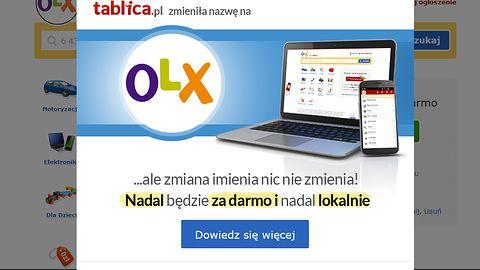 Tablica.pl już działa pod nazwą OLX, ma nową aplikację na Androida