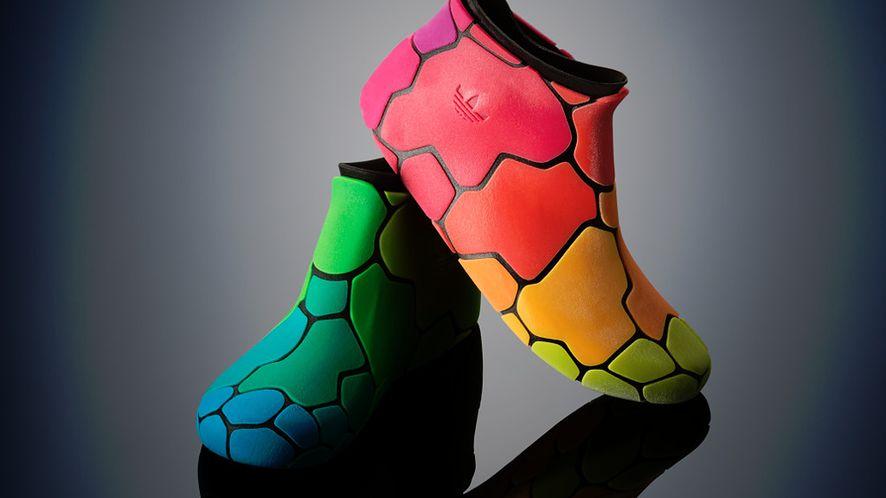 Prototyp butów z Objet500