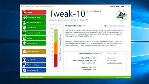 Tweak-10 przyśpieszy i dopasuje najnowszy system Microsoftu do naszych potrzeb