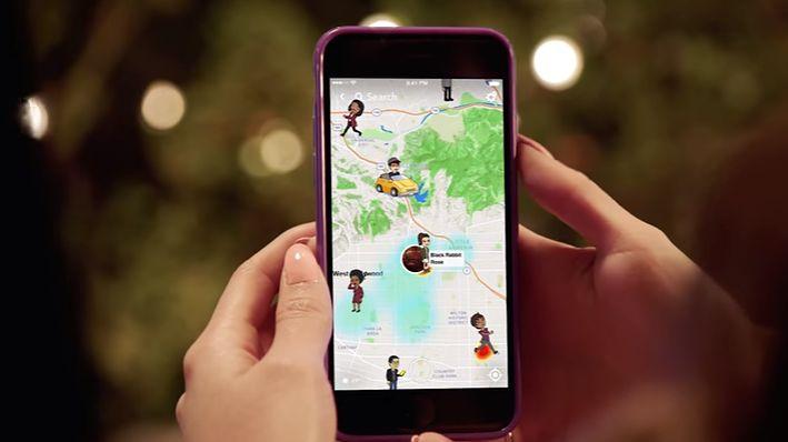 Snapchat dostaje mapy ze snapami, ale optymalizacji wciąż brak