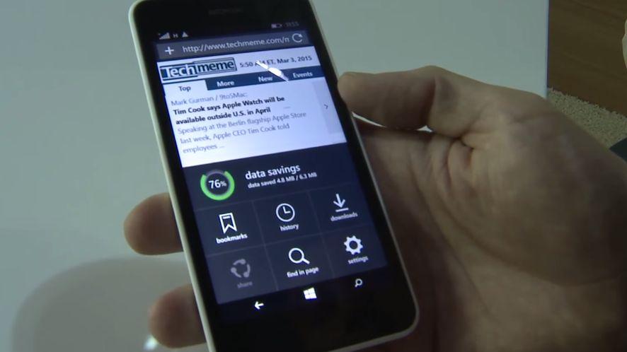 [MWC 2015] Nowa Opera Mini dla Windows Phone zapowiada się świetnie